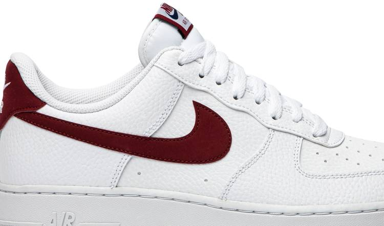 Air Force 1 Low 'White Team Red'