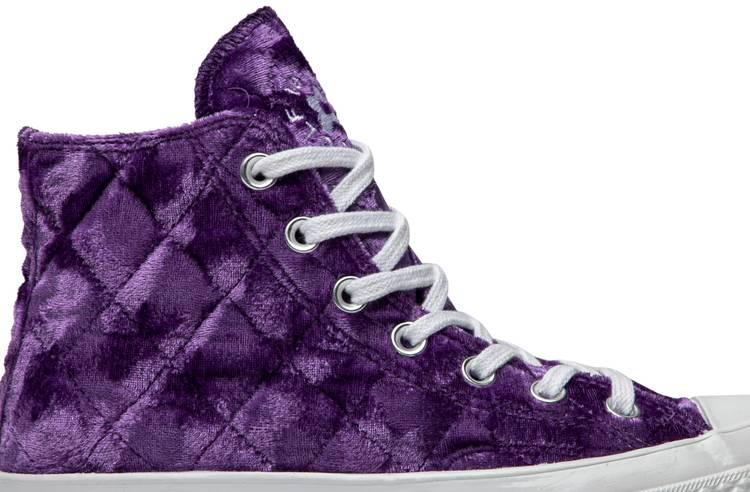 para donar silencio Campaña  Golf Le Fleur x Chuck 70 Hi 'Quilted Velvet Tillandsia Purple' - Converse -  165600C | GOAT