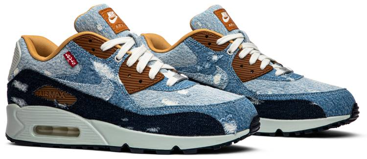 Levi's x Air Max 90 'Nike By You' Nike 708279 988 | GOAT