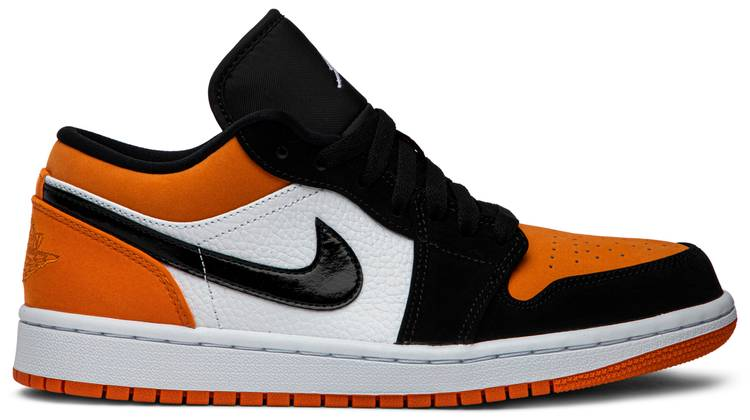 air jordan 1 orange low