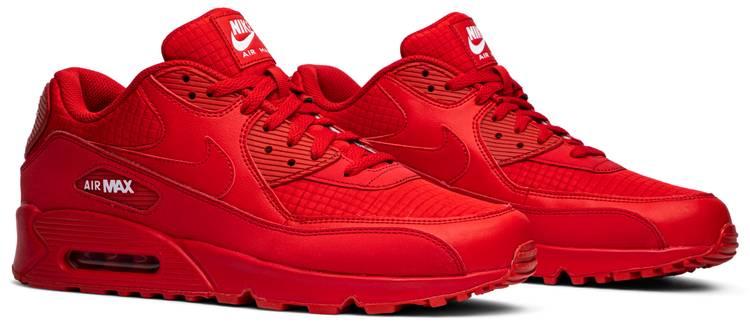 Air Max 90 Essential University Red Nike Aj1285 602 Goat