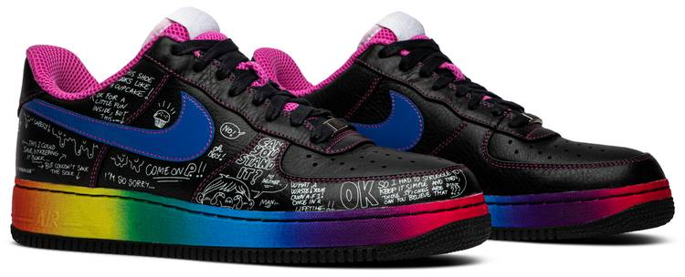 Colette x Air Force 1 Low Supreme 'Busy P' Nike 318985
