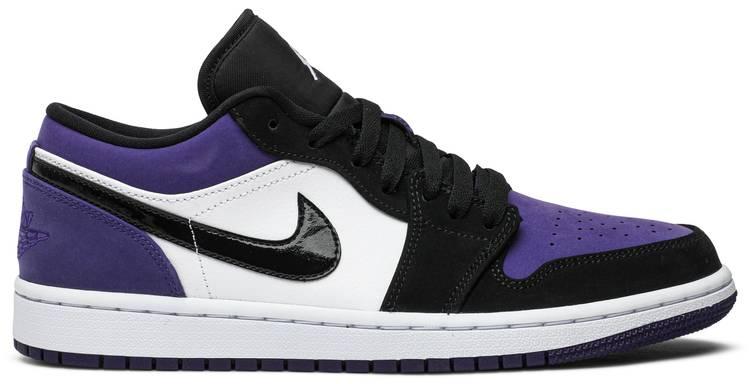 Air Jordan 1 Low Court Purple Air Jordan 553558 125 Goat