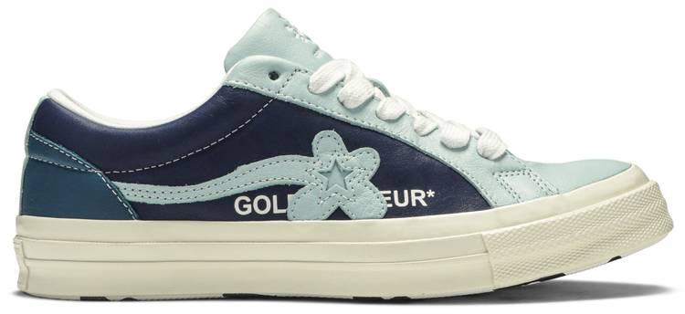 Golf Le Fleur X One Star Ox Industrial Pack Blue Converse 164024c Goat