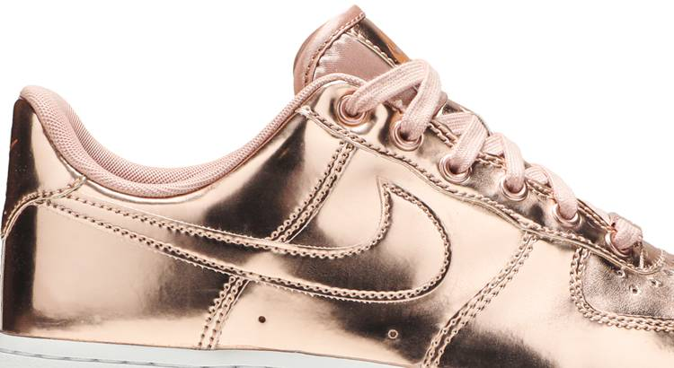 nike air force 1 sp metallic rose gold