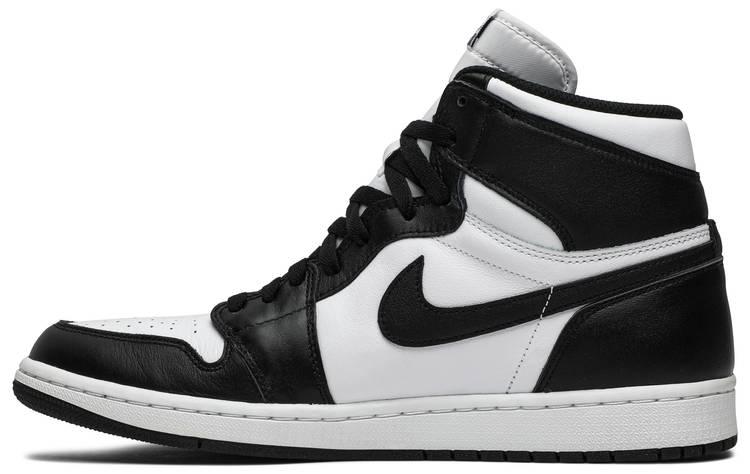 black and white jordan 1