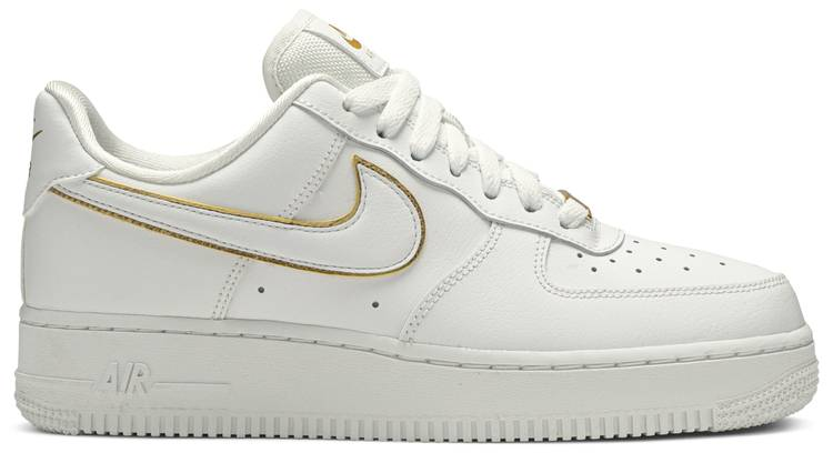 Wmns Air Force 1 07 ESS 'Metallic Gold'