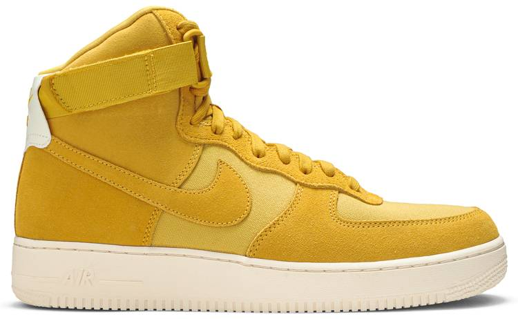 nike air force 1 yellow suede