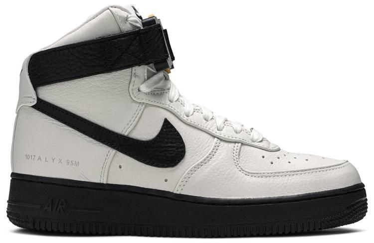 1017 Alyx 9sm X Air Force 1 High White Black Nike Cq4018 101