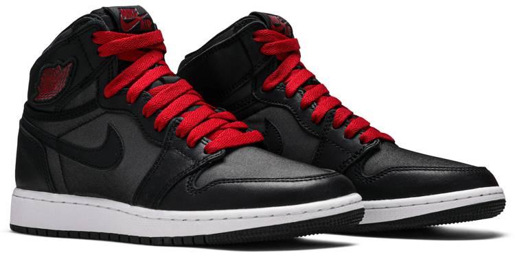 Air Jordan 1 Retro High Og Bg Black Gym Red Air Jordan