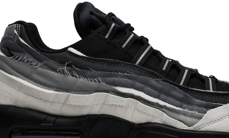 Comme des Garçons x Air Max 95 'Grey' - Nike - CU8406 101 | GOAT