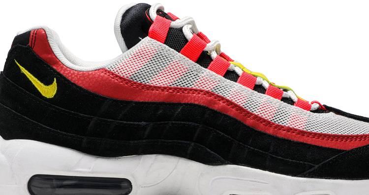 Air Max 95 Bright Crimson Nike At9865 101 Goat