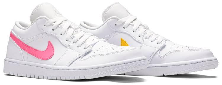 Air Jordan 1 Low White Multi Color Air Jordan Cw7033 100 Goat