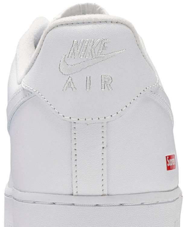 Nike Supreme x Air Force 1 Low 'Box Logo - White'