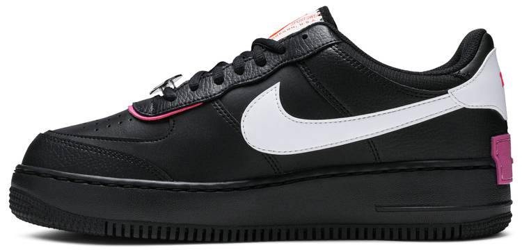 Wmns Air Force 1 Shadow Cosmic Fuchsia Nike Cu4743 001 Goat The nike air force shadow was initially designed to be a performance basketball shoe, to be worn on hardcourt and with features to help athletes grab air and improve movement. wmns air force 1 shadow cosmic fuchsia