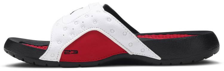 Jordan Hydro 13 Retro Slide BG 'White Gym Red' - Air Jordan - 684920 101 |  GOAT
