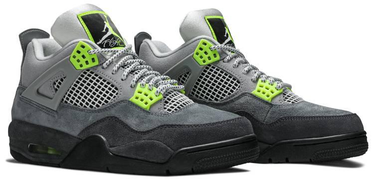Air Jordan 4 Retro SE 'Neon 95' - Nike - CT5342 007 | GOAT