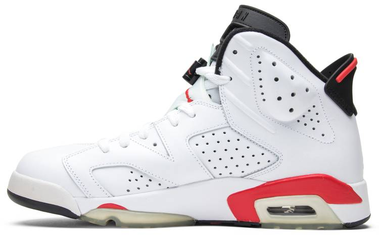 píldora Pensionista Archivo  Air Jordan 6 Retro Infrared Pack 'White' - Air Jordan - 384664 103 | GOAT