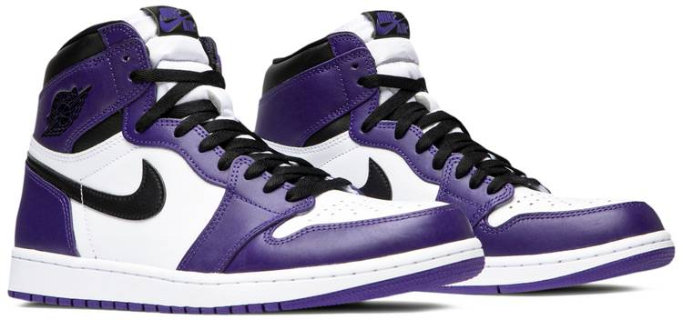 Air Jordan 1 Retro High OG 'Court Purple 2.0' - Air Jordan ...