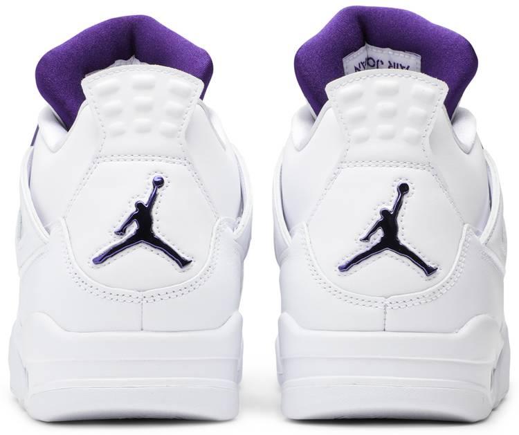 Air Jordan 4 Retro 'Purple Metallic' - Air Jordan - CT8527 115 | GOAT