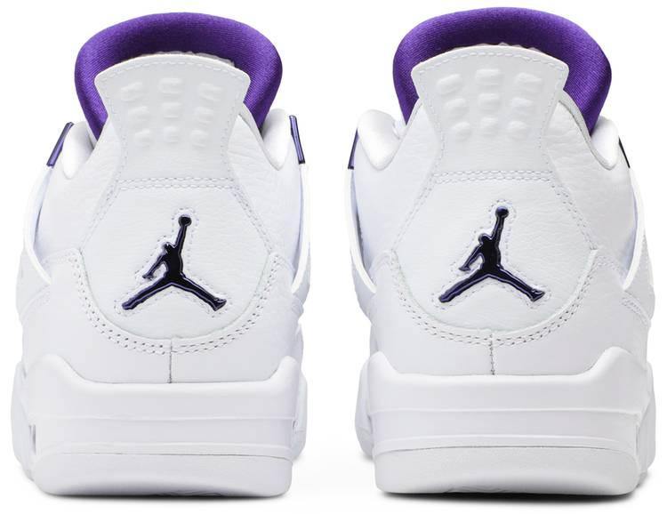 Air Jordan 4 Retro GS 'Purple Metallic'
