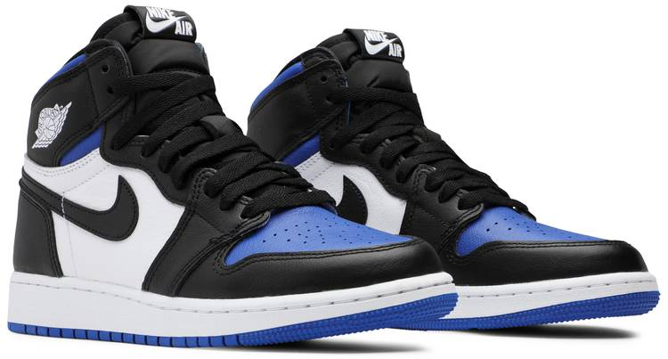Air Jordan 1 Retro High OG GS 'Royal Toe' - Air Jordan ...