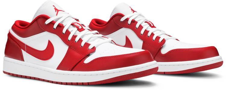 Air Jordan 1 Low 'Gym Red' - Air Jordan - 553558 611   GOAT