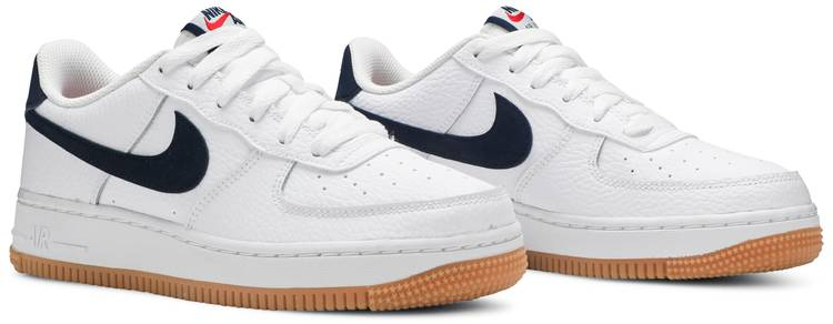 Air Force 1 Low GS 'White Obsidian'