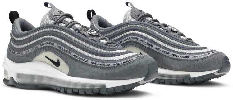 Restricciones atractivo Uluru  Air Max 97 GS 'Have A Nike Day - Dark Grey' - Nike - 923288 001 | GOAT