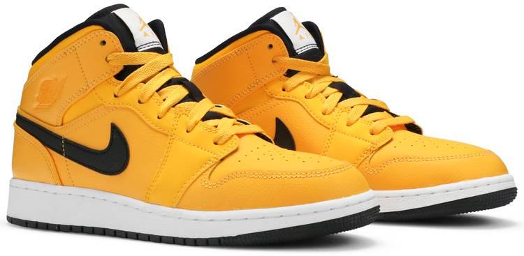 Air Jordan 1 Mid GS 'University Gold' - Air Jordan - 554725 700 | GOAT
