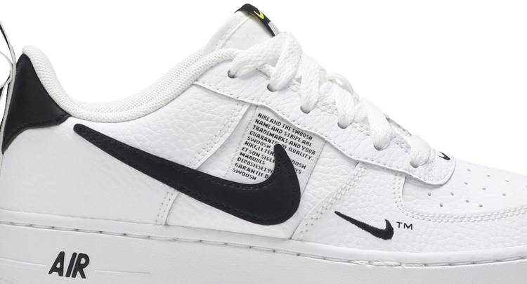 Air Force 1 LV8 Utility GS 'Overbranding' - Nike - AR1708 100   GOAT