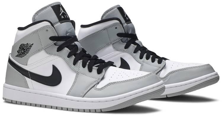 Air Jordan 1 Mid 'Smoke Grey' - Air Jordan - 554724 092 | GOAT