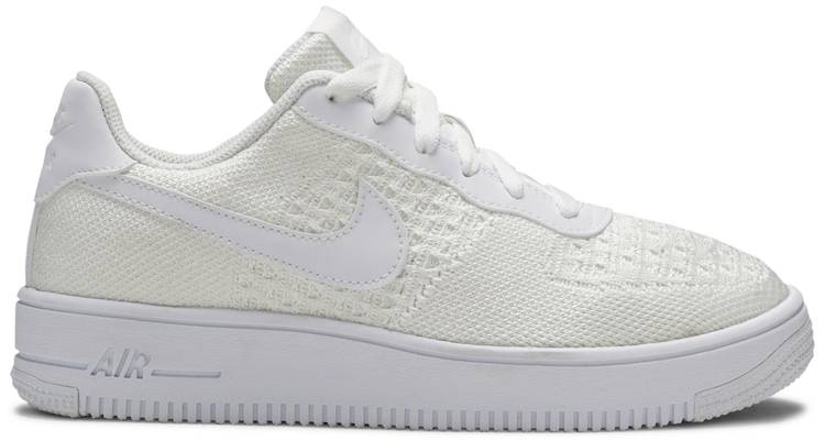 air force 1 flyknit bianca