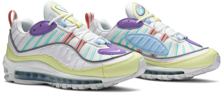 Wmns Air Max 98 'Easter Pastels' - Nike - AH6799 300 | GOAT