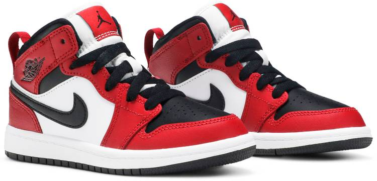 Air Jordan 1 Mid PS 'Chicago Black Toe'