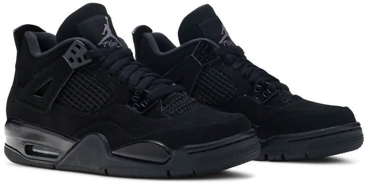Air Jordan 4 Retro GS 'Black Cat' 2020