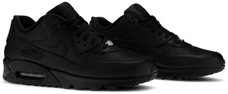 Air Max 90 Leather 'Black'
