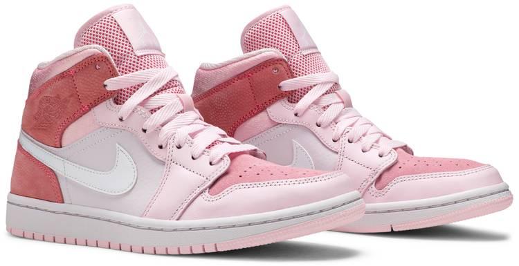 Wmns Air Jordan 1 Mid Digital Pink Air Jordan Cw5379 600 Goat