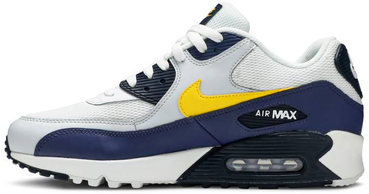 Air Max 90 Essential 'Michigan' - Nike - AJ1285 101 | GOAT