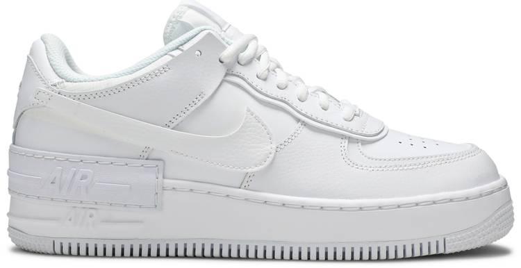 Wmns Air Force 1 Shadow Triple White Nike Ci0919 100 Goat Nike women's air force 1 shadow casual shoes. wmns air force 1 shadow triple white