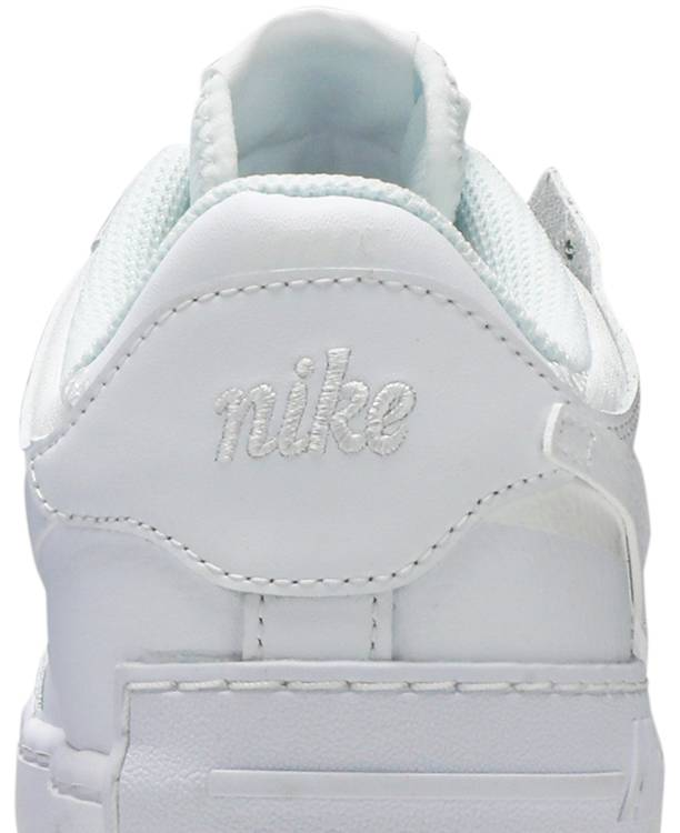 Wmns Air Force 1 Shadow Triple White Nike Ci0919 100 Goat Click below and we will let you know when this item is back in stock. wmns air force 1 shadow triple white