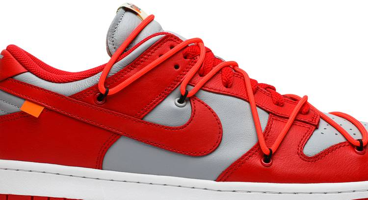 Off-White x Dunk Low 'University Red' - Nike - CT0856 600 | GOAT