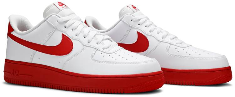 Air Force 1 Low White Red Sole Nike Ck7663 102 Goat