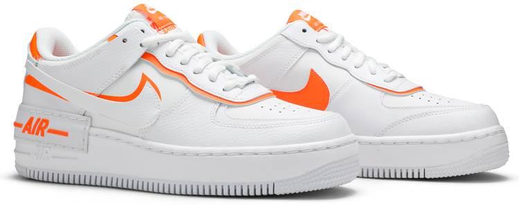 Wmns Air Force 1 Shadow Total Orange Nike Ci0919 103 Goat Nike air force 1 shadow team orange shoes. wmns air force 1 shadow total orange