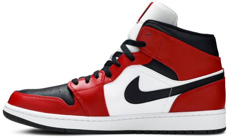 Air Jordan 1 Mid 'Chicago Black Toe'
