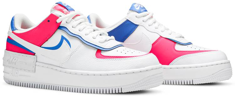 Wmns Air Force 1 Shadow 'Cotton Candy' - Nike - CU3012 111 | GOAT