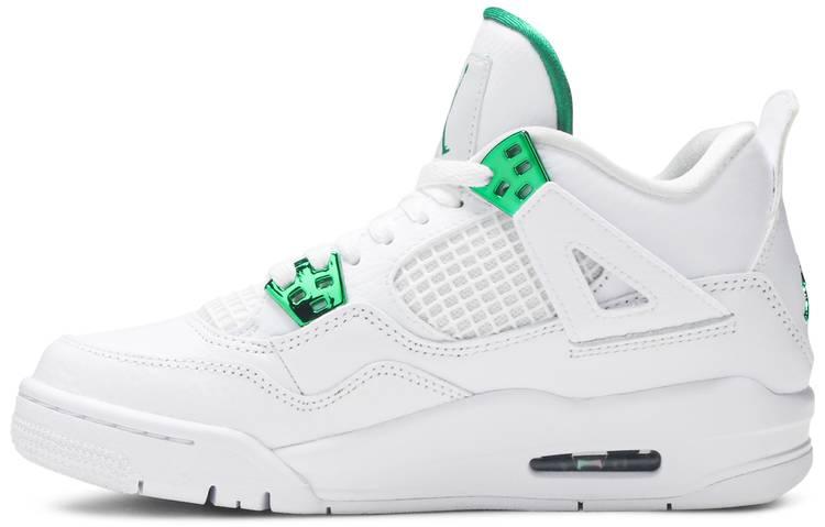Air Jordan 4 Retro GS 'Green Metallic'