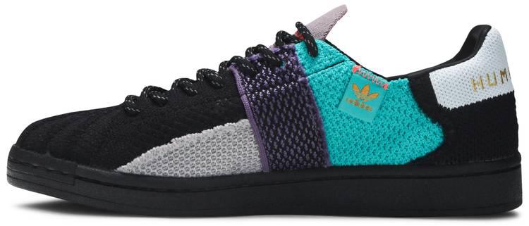 Pharrell x Superstar 'Patchwork - Black' - adidas - FY1787   GOAT
