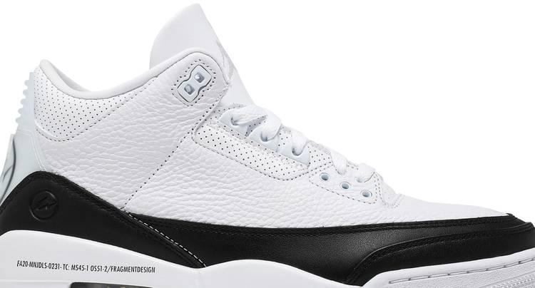 Fragment Design x Air Jordan 3 Retro SP 'White'