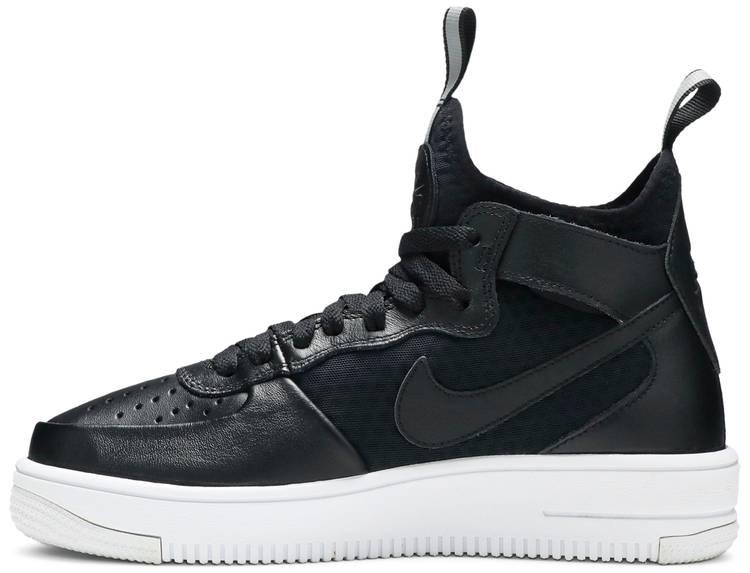 movimiento Por nombre imagen  Wmns Air Force 1 Ultraforce Mid 'Black' - Nike - 864025 001 | GOAT